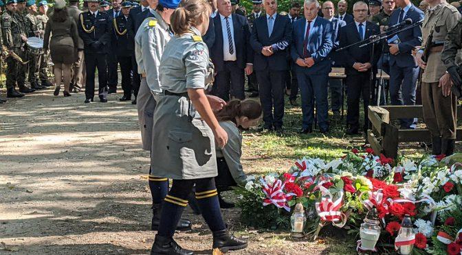 8 września 2021 r. w Osowych Grzędach upamiętniono 9. Pułk Strzelców Konnych AK